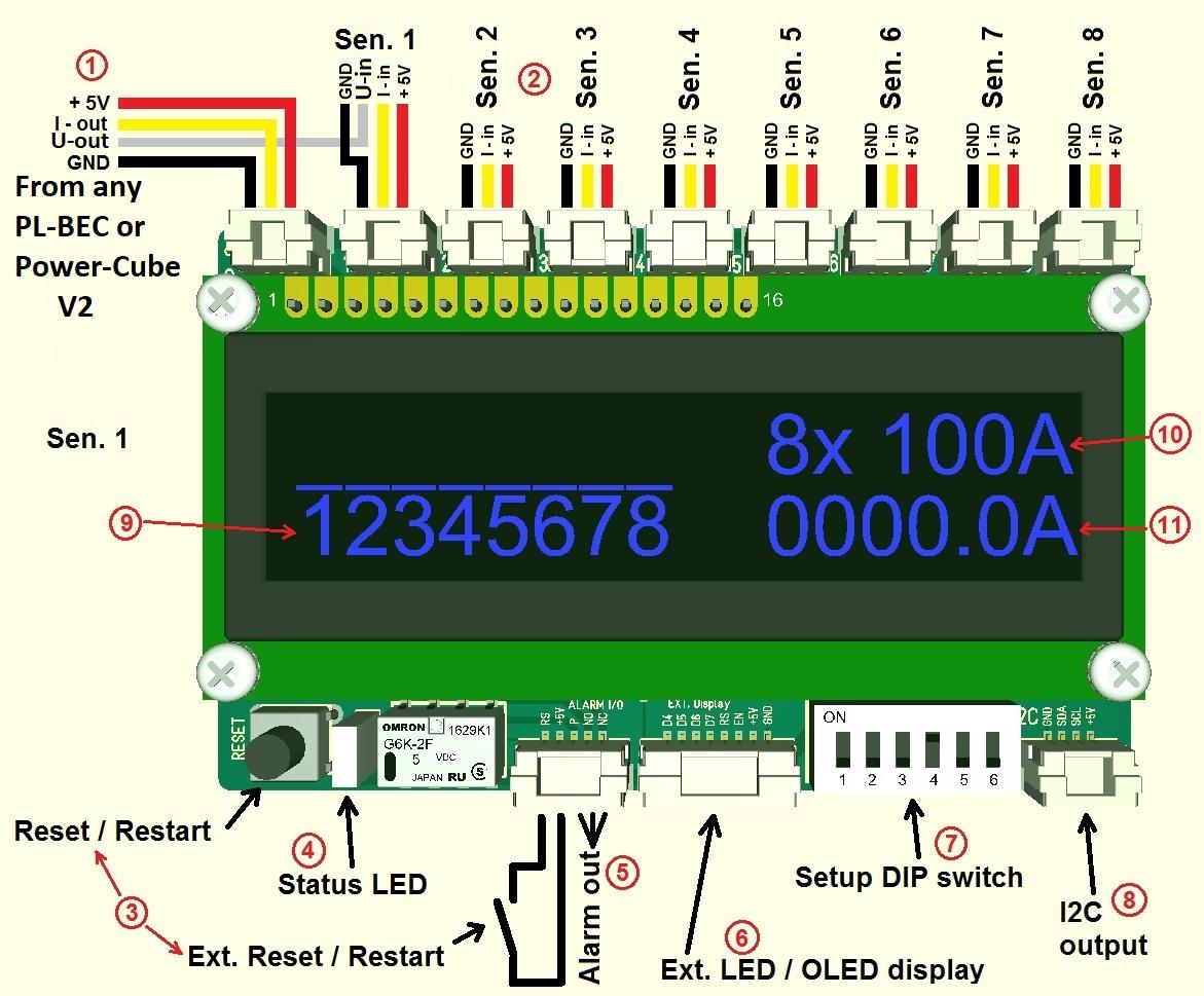 Arducopter X8 Wiring Diagram Schematics Diagrams 100a 200a Hall Sensor Pm For Pixhawk Apm Pl Hub